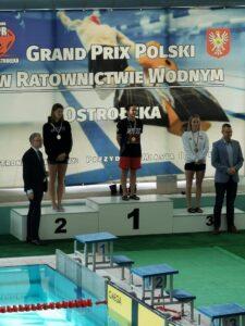 Zdjęcie z Grand Prix Polski w Ratownictwie Wodnym 2020